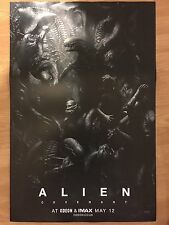 Alien Covenant Poster ODEON IMAX Exclusive cinema movie promo Ridley Scott Effrayant