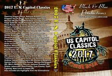 2017 U.S. Capitol Classics and China Open Karate Tournament DVD 2.5 hours long