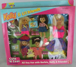 NRFB 1996 Barbie Kelly Cute N Cool Fashions Vintage Pack Summer Accessory School