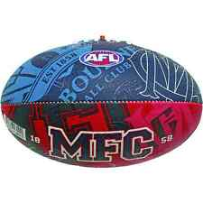 MELBOURNE DEMONS AFL SIZE 2  FOOTBALL MATCH GAME MEDIUM