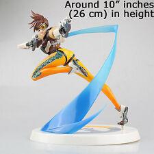 Blizzard OverWatch Slipstream Tracer Blink Recall PVC Figure Statue 3D Model