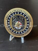 D26 NYPD CHIEF OF COUNTERTERRORISM BUREAU CHALLENGE COIN