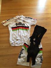 Palmasino iBike Cycle Jersey and Bib Paddes shorts kit XL