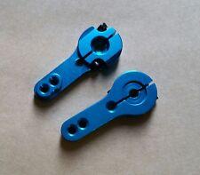 1/10 1/8 RC Futaba Savox Quality 25T Alloy RC Servo Arm Horn Blue x2