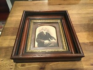 Antique Victorian Late 1800s Classic EASTLAKE Deep Well Layered Picture Frame