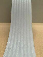 "KINGHAM PLATINUM (Light Grey)  VERTICAL BLIND REPLACEMENT SLATS 89mm (3.5"") WIDE"