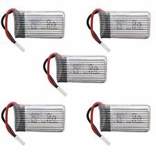 5 Pz Batterie Lipo Ricaricabili per Hubsan X4 H107c H107d H107L -3.7v 380mAh