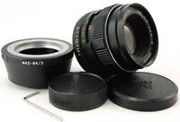 HELIOS 44m-4 2/58 Lens Micro M 4/3 MFT Mount Olympus OM-D PEN Panasonic Lumix