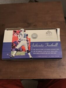 2000 SP AUTHENTIC NFL FOOTBALL BOX OPENED SUPREMACY CARDS NEW CLASSICS ROOKIE