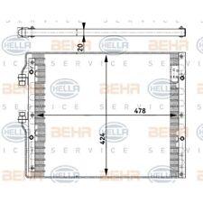 HELLA Kondensator, Klimaanlage 8FC 351 302-181
