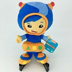Nickelodeon Team Umizoomi Geo 8 inch Plush Stuffed Toy Nick Jr New With Tags