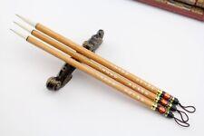 """S M L """"Santu�Beginner Water Ink Chinese Painting Sumi-e Calligraphy Brush"""