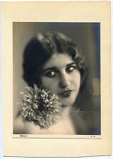 Photo Atelier Manassé Wien - Mimosa - Tirage argentique d'époque - 1930 -