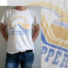Junk Food Day Tripper Destroyed Finish Soft Tri-Blend Classic Fits Retro T-shirt
