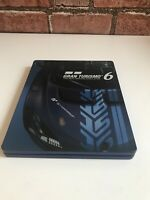 Playstation PS3 Gran Turismo 6 15th Anniversary Edition Game Steel Book