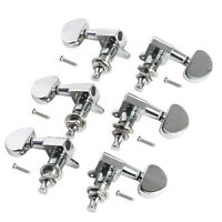 Acoustic Guitar Tunning Pegs Tuners Machine Heads Tuning Peg Chrome 3L3R