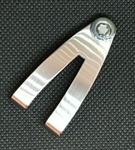 MontBlanc Stainless Steel Money Clip Contemporary Collection ex-display