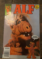 👽Alf #1 - NBC TV Show - Marvel Comics NEWSSTAND 1988 ; 1st app. Alf👽