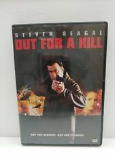 Out for a Kill DVD Steven Seagal  Action Movie