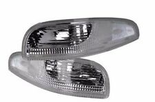1997 - 2004 C5 Corvette Clear Parking Lamp / Turn Signal Light Assemblies. Pair