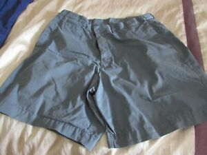 "mens shorts 36"" Pale Blue in excellent condition elastic waist"