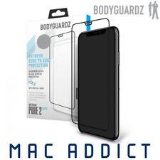 BodyGuardz Pure 2 Edge Aluminosilicate Glass Screen Protector for iPhone XS Max