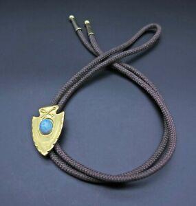 Arrowhead Turquoise Southwest Style Vintage Bolo Tie