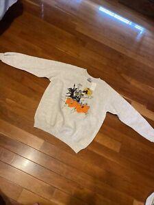 halloween sweatshirt hanes her way tag