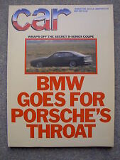 Car (May 1987) BMW M3, M5 v Mercedes 190, Sierra Cosworth, Golf GTi v XR3, Astra