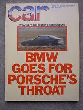 Car (May 1987) BMW M3, M5 v Mercedes 190, Sierra Cosworth, Golf GTi v XR3, Astra