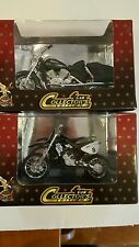 2 Yat Ming Collector's Edition 1:18 Road Signature Yamaha Motorcycles - NEW