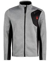 New Big Kids Boys Spyder Raider Full Zip Jacket Coat Top Fleece