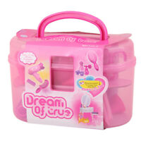 Pretend Play Toys Plastic Makeup Dressup Playset Girls Kids Role Play Gifts