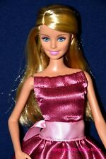 Stunning Blonde Fashionistas Barbie Doll in Unique Dress