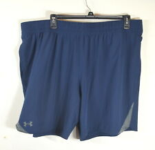 Under Armour Men's Running Shorts 3XL Fitted Lined Blue NWT