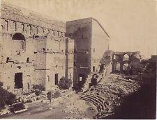 Théâtre antique d'Orange Vintage Albumine vers 1875