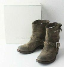 Authentic Golden Goose GGDB Suède Middle Boots Khaki EU:38 US:8(8.5) Shoes