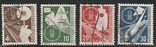 KAPPYSSTAMP KS3509 GERMANY SCOTT 698 699 700 701  USED RETAIL $45
