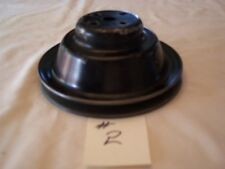 1957 CHEVY F.I. WATER PUMP PULLEY #2 DEEP GROOVE CORVETTE 348 409 RAT ROD HOT 57