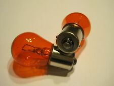 A PAIR OEM FSL 12V 21W ORANGE TURN SIGNAL LIGHT BULB OR BLINKER LAMP FIT ON AUTO