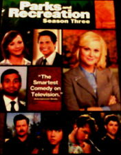 PARKS and RECREATION The COMPLETE SEASON THREE All 16 Episodes+ Special Features
