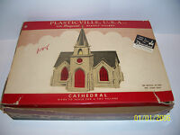 1950s PLASTICVILLE THE ORIGINAL BACHMANN CATHEDRAL C-18 HO OR O SCALE MODEL KIT