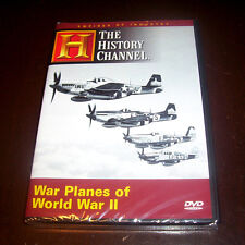 WAR PLANES of WORLD WAR II Empires of Industry History Channel P-51 B-17 DVD NEW