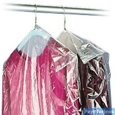 21x4x72 Dry Clean Plastic Garmen Dress Clothes Bags 350