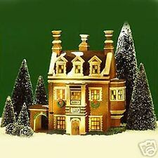 DEPARTMENT 56... DICKENS VILLAGE.....DURSLEY MANOR...W/LIGHT...FOUND..NEW IN BOX