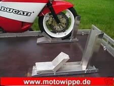 """Motorrad Standschiene, Wippe mit Anschlag,  """"MOTOWIPPE"""""""