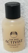 The Body Shop ACTIVIST Shower Gel Men Wheat Protein Travel Size 1 oz/30mL New