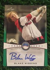 2013 LEAF Perfect Game Baseball RC Auto Blake Wiggins #ED 01/10 See Pics