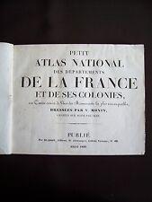 Petit atlas national des départements de la France et de ses colonies