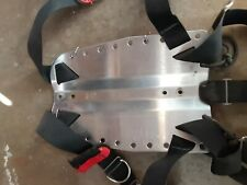 OMS stainless steal dive plate with web gear